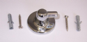 Pin Type Shower Swivel Elbow Wall Plate